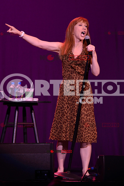 HOLLYWOOD FL - JUNE 2 : Kathy Griffin performs at Hard Rock Live at the Seminole Hard Rock Hotel & Casino on June 2, 2012 in Hollywood, Florida. © mpi04/MediaPunch Inc.