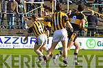 Dr Crokes v  Crossmaglen Rangers in the All Ireland Club Senior Football Championship Semi-Final, at O'Moore Park, Portlaoise on Saturday 18/2/2012