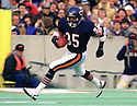 Chicago Bears Neal Anderson (35) during a game from his 1986 season with the Chicago Bears. Neal Anderson played for 8 seasons, all with the Chicago Bears, was a 4-time Pro Bowler.(SPORTPICS)