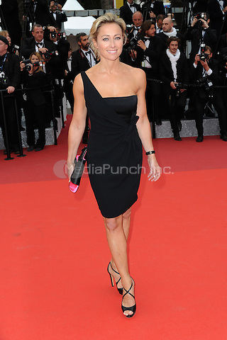 Anne-Sophie Lapix at the &acute;Ma Loute` screening during The 69th Annual Cannes Film Festival on May 13, 2016 in Cannes, France.<br /> CAP/LAF<br /> &copy;Lafitte/Capital Pictures /MediaPunch ***NORTH AND SOUTH AMERICA ONLY***