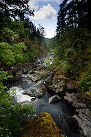 Sooke pot holes. Sooke,Vancouver Island, British Columbia, Canada.
