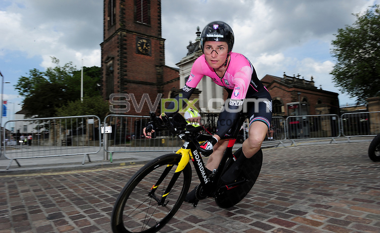 Picture by/SWpix.com - 23/06/2016 - Cycling - British Cycling National Championships - Womens Time Trial - Stockton-upon-Tees, England - <br />