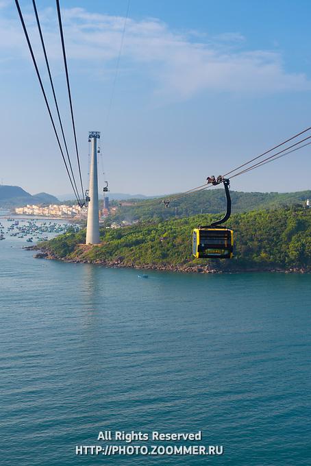 Hon Thom Cable Car, Phu Quoc Island, Vietnam
