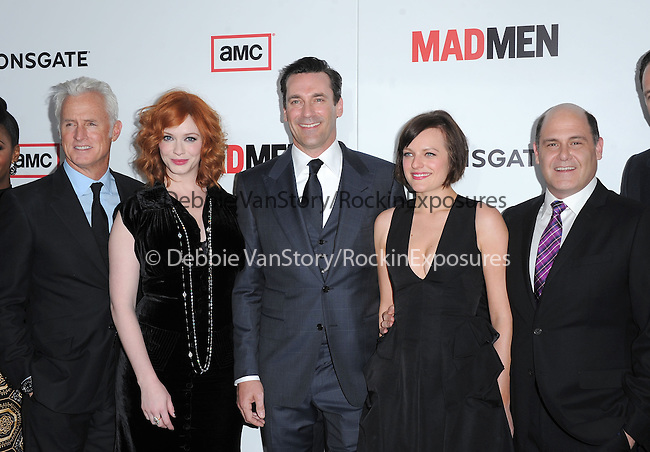 The Cast of Mad Men at The AMC Premiere of The 6th Season Of Mad Men held at The DGA in West Hollywood, California on March 20,2013                                                                   Copyright 2013 Hollywood Press Agency