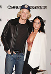 WEST HOLLYWOOD, CA - OCTOBER 12: Singers Cody Simpson (L) and Alexx Mack arrive at Cosmopolitan Magazine's 50th Birthday Celebration at Ysabel on October 12, 2015 in West Hollywood, California.