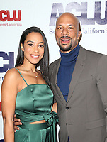 BEVERLY HILLS, CA - DECEMBER 3: Angela Rye, Common, at ACLU SoCal's Annual Bill Of Rights Dinner at the Beverly Wilshire Four Seasons Hotel in Beverly Hills, California on December 3, 2017. Credit: Faye Sadou/MediaPunch /NortePhoto.com NORTEPHOTOMEXICO