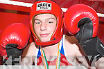 CHAMP: Pat Joe Connolly (13) from Ballyduff, who boxed his way to glory at the National Stadium in Dublin last week and secured his All Ireland National Title in the Boy 3/70kg category..