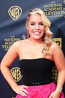 BURBANK - APR 26: Kristen Alderson at the 42nd Daytime Emmy Awards Gala at Warner Bros. Studio on April 26, 2015 in Burbank, California