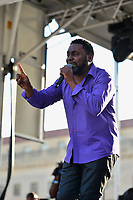 Washington, DC - April 14, 2018: Grammy Award winning rapper Big Daddy Kane performs at Freedom Plaza in Washington, D.C. during the Emancipation Day celebration April 14, 2018.  (Photo by Don Baxter/Media Images International)