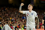 England's Kieran Trippier celebrates goal during UEFA Nations League 2019 match between Spain and England at Benito Villamarin stadium in Sevilla, Spain. October 15, 2018. (ALTERPHOTOS/A. Perez Meca)