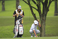 Soomin Lee (KOR) with Kenneth Quillinan (caddy) on the 10th during Round 2 of the Maybank Championship at the Saujana Golf and Country Club in Kuala Lumpur on Friday 2nd February 2018.<br /> Picture:  Thos Caffrey / www.golffile.ie<br /> <br /> All photo usage must carry mandatory copyright credit (&copy; Golffile | Thos Caffrey)
