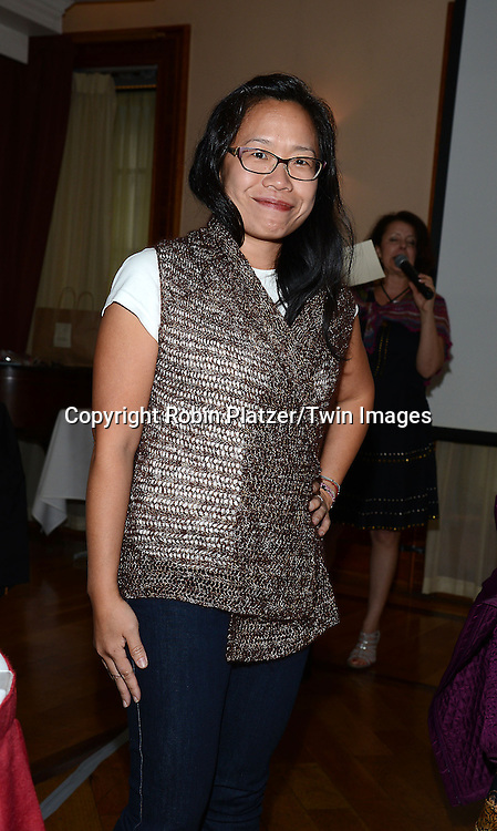 attends the Big Apple Knitters Guild Luncheon on September 20, 2014 at Maloney &amp; Porcelli in New York City. <br /> <br /> photo by Robin Platzer/Twin Images<br />  <br /> phone number 212-935-0770