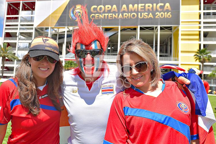 Photo before the match Costa Rica vs Paraguay, Corresponding Group -A- America Cup Centenary 2016, at Citrus Bowl Stadium<br /> <br /> Foto previo al partido Estados Unidos vs Colombia, Correspondiante al Grupo -A-  de la Copa America Centenario USA 2016 en el Estadio Citrus Bowl, en la foto: Fans<br /> <br /> 04/06/2016/MEXSPORT/Isaac Ortiz.