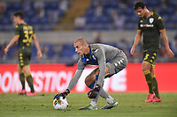 Lorenzo Andreacci of Brescia<br /> during the Serie A football match between SS Lazio  and Brescia Calcio at stadio Olimpico in Roma (Italy), July 29th, 2020. Play resumes behind closed doors following the outbreak of the coronavirus disease. <br /> Photo Antonietta Baldassarre / Insidefoto