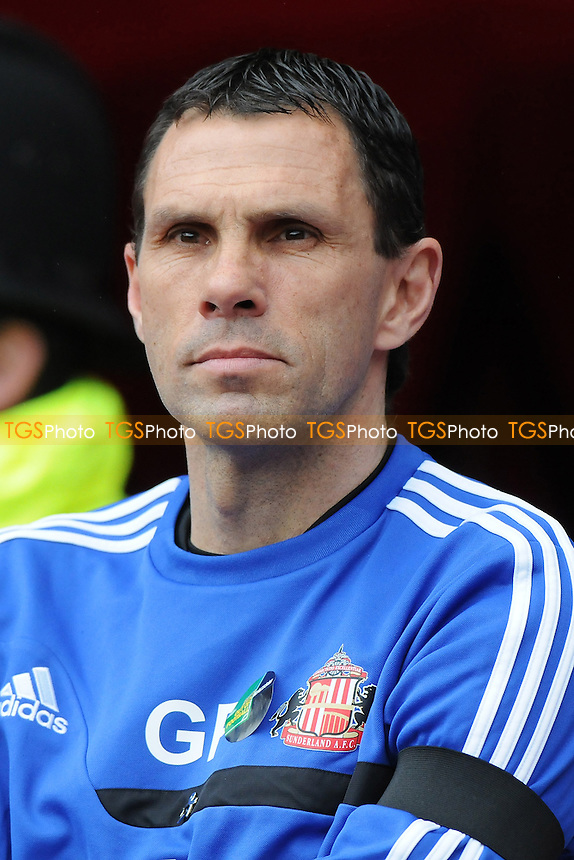 Sunderland manager Gus Poyet - Sunderland vs Everton - Barclays Premier League Football at the Stadium of Light, Sunderland - 12/04/14 - MANDATORY CREDIT: Steven White/TGSPHOTO - Self billing applies where appropriate - 0845 094 6026 - contact@tgsphoto.co.uk - NO UNPAID USE