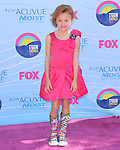 Maggie Elizabeth Jones at FOX's 2012 Teen Choice Awards held at The Gibson Ampitheatre in Universal City, California on July 22,2012                                                                               © 2012 Hollywood Press Agency
