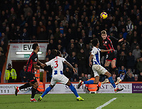 Bournemouth's David Brooks (right) headers the ball to scores his side's second goal <br /> <br /> Photographer David Horton/CameraSport<br /> <br /> The Premier League - Bournemouth v Brighton and Hove Albion - Saturday 22nd December 2018 - Vitality Stadium - Bournemouth<br /> <br /> World Copyright © 2018 CameraSport. All rights reserved. 43 Linden Ave. Countesthorpe. Leicester. England. LE8 5PG - Tel: +44 (0) 116 277 4147 - admin@camerasport.com - www.camerasport.com