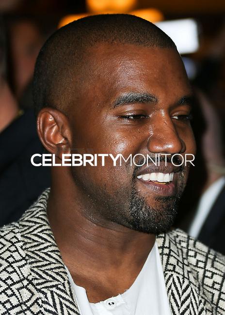 LAS VEGAS, NV, USA - OCTOBER 25: Kanye West arrives at Kim Kardashian West's 34th Birthday Celebration held at TAO Nightclub at The Venetian Las Vegas on October 25, 2014 in Las Vegas, Nevada, United States. (Photo by Xavier Collin/Celebrity Monitor)