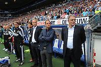 VOETBAL: HEERENVEEN: Abe Lenstra Stadion, 02-09-2012, Eredivisie 2012-2013, SC Heerenveen - Ajax, Eindstand 2-2,..Trainers en begeleiders AJAX..Copyright Martin de Jong..
