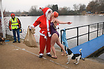 CHRISTMAS DAY SERPENTINE SWIM LONDON