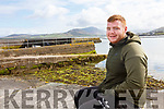 Mikey Moriarty from Valentia was back home less than 24 hours from Malta when he pulled two American tourists from their car after they drove it into the tide in Knightstown, Valentia on Monday afternoon.