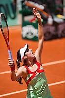 02-06-12, France, Paris, Tennis, Roland Garros,  Christina Mchale