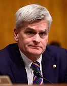 "United States Senator Bill Cassidy (Republican of Louisiana) presides during the United States Senate Committee on Health, Education, Labor and Pensions Committee hearing on ""Vaccines Save Lives: What Is Driving Preventable Disease Outbreaks?"" on Capitol Hill in Washington, DC on Tuesday, March 5, 2018.<br /> Credit: Ron Sachs / CNP"