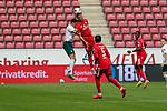 Milos Veljkovic (Werder Bremen #13), Karim Onisiwo (FSV Mainz 05 #21), Jean-Paul Boëtius / Boetius (FSV Mainz 05 #05)<br /> <br /> <br /> Sport: nphgm001: Fussball: 1. Bundesliga: Saison 19/20: 33. Spieltag: 1. FSV Mainz 05 vs SV Werder Bremen 20.06.2020<br /> <br /> Foto: gumzmedia/nordphoto/POOL <br /> <br /> DFL regulations prohibit any use of photographs as image sequences and/or quasi-video.<br /> EDITORIAL USE ONLY<br /> National and international News-Agencies OUT.