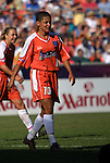 22 June 2003: Sissi of Brazil. The Washington Freedom tied the San Jose CyberRays 2-2 at RFK Stadium in Washington, DC in a regular season WUSA game.