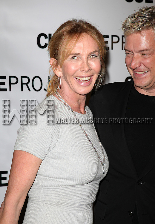 Trudie Styler & Chris Botti attending the after Party for 10th Anniversary Production of 'The Exonerated' at the Culture Project in New York City on 9/19/2012.