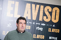 "Director of the film, Daniel Calparsoro attends to the presentation of the film ""El Aviso"" at URSO Hotel in Madrid , Spain. March 19, 2018. (ALTERPHOTOS/Borja B.Hojas) /NortePhoto.com"