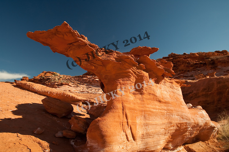 Red rock formations