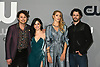 Misha Collins, Jeanine Mason, Lili Cowles &amp; Nathan Parsons from &quot;Rosewwll, New Mexico, attend the CW Upfront 2018-2019 at The London Hotel in New York, New York, USA on May 17, 2018.<br /> <br /> photo by Robin Platzer/Twin Images<br />  <br /> phone number 212-935-0770