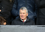 9th February 2019, Craven Cottage, London, England; EPL Premier League football, Fulham versus Manchester United; Former Manchester Untied Chief Executive David Gill looking on from the stands