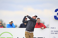 Paul Peterson (USA) on the 3rd tee during Round 4 of the D+D Real Czech Masters at the Albatross Golf Resort, Prague, Czech Rep. 03/09/2017<br /> Picture: Golffile | Thos Caffrey<br /> <br /> <br /> All photo usage must carry mandatory copyright credit     (&copy; Golffile | Thos Caffrey)