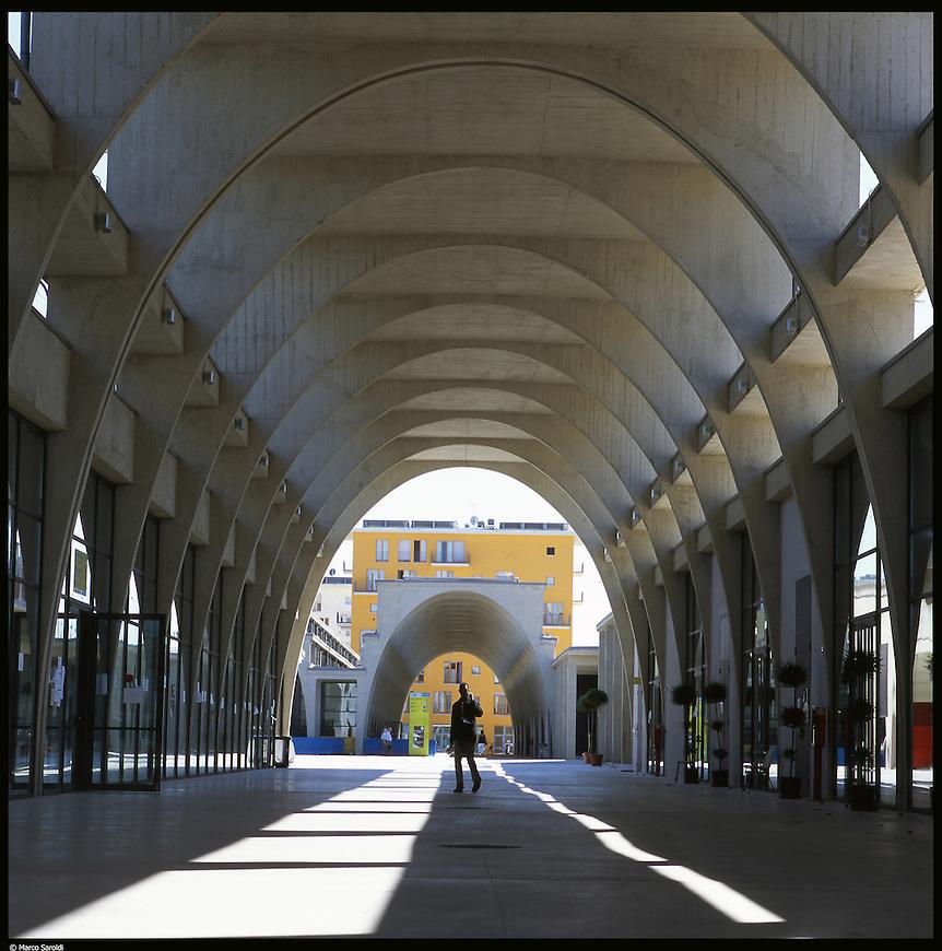 La nuova città di Torino, completata per le olimpiadi del 2006. Il villaggio olimpico.