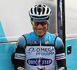 Sylvain Chavanel (FRA) Omega Pharma-Quick Step all smiles before the start of the 56th edition of the E3 Harelbeke, Belgium, 22nd  March 2013 (Photo by Eoin Clarke 2013)