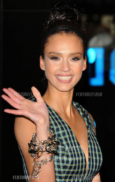 Jessica Alba arriving for the European premiere of 'Valentine's Day' at Odeon Leicester Square, London.  11/02/2010  Picture by: Gerry Copper / Featureflash