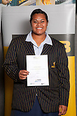 Athletics Girls finalistwinner Siositina Hakeai from Auckland Girls Grammar School..   ASB College Sport Young Sportsperson of the Year Awards held at Eden Park, Auckland, on November 11th 2010.