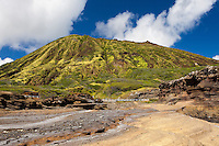 View of Koko Head Crater from the Ka'iwi shoreline on O'ahu