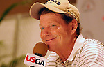 30 July 2008:  Tom Watson interview following Wednesday's practice round prior to  the 2008 US Senior Open Championship at The Broadmoor, Colorado Springs, CO.