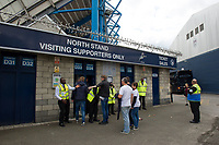 Bolton Wanderers fans going through security at The Den<br /> <br /> Photographer Ashley Western/CameraSport<br /> <br /> The EFL Sky Bet Championship - Millwall v Bolton Wanderers - Saturday August 12th 2017 - The Den - London<br /> <br /> World Copyright &not;&copy; 2017 CameraSport. All rights reserved. 43 Linden Ave. Countesthorpe. Leicester. England. LE8 5PG - Tel: +44 (0) 116 277 4147 - admin@camerasport.com - www.camerasport.com