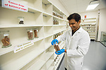 Research scientist Dr. Vijayasankar Raman at the Natural Products Training Center.  Photo by Kevin Bain/Ole Miss Communications