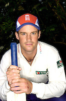 PICTURE BY BEN DUFFY/SWPIX - England Cricket Captain Andrew Strauss.