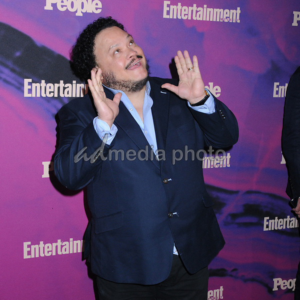 13 May 2019 - New York, New York - Adrian Martinez at the Entertainment Weekly & People New York Upfronts Celebration at Union Park in Flat Iron. Photo Credit: LJ Fotos/AdMedia