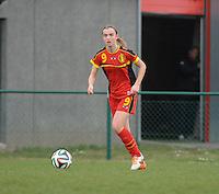 U17 Belgian Red Flames - Nigeria :<br /> <br /> Ellen Lagrange<br /> <br /> foto Dirk Vuylsteke / Nikonpro.be