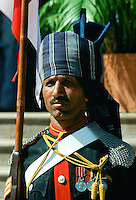 Ceremonial guard at Military Academy at Poona,  India
