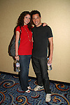 OLTL's Brittany Underwood poses with Jason Tam at the One Life To Live Fan Club Luncheon on August 16, 2008 at the New York Marriott Marquis, New York, New York.  (Photo by Sue Coflin/Max Photos)