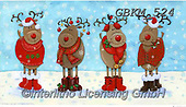 Kate, CHRISTMAS ANIMALS, WEIHNACHTEN TIERE, NAVIDAD ANIMALES, paintings+++++Christmas page 9 3,GBKM524,#xa#