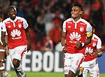 Independiente Santa Fe venció 3-0 (5-1) a Santiago  Wanderers. Partido de vuelta fase 3 de la Conmebol Libertadores 2018.